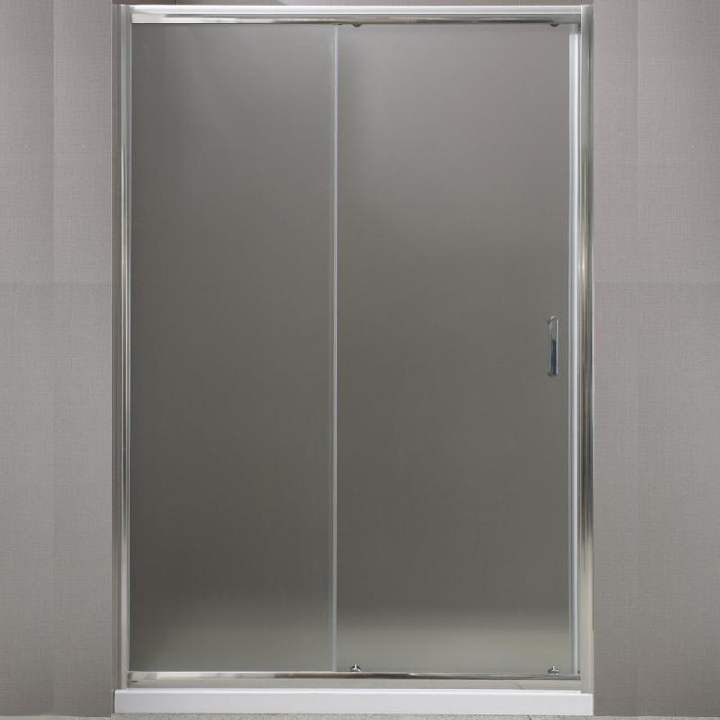 Душевая дверь в нишу BelBagno Uno BF-1 130 профиль Хром стекло прозрачное душевая дверь в нишу belbagno uno bf 1 130 профиль хром стекло прозрачное