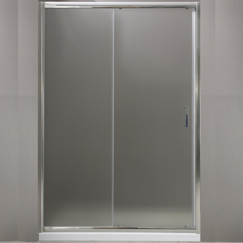 Душевая дверь BelBagno Uno BF-1 130 профиль Хром стекло прозрачное душевая дверь в нишу belbagno uno bf 1 100 профиль хром стекло прозрачное
