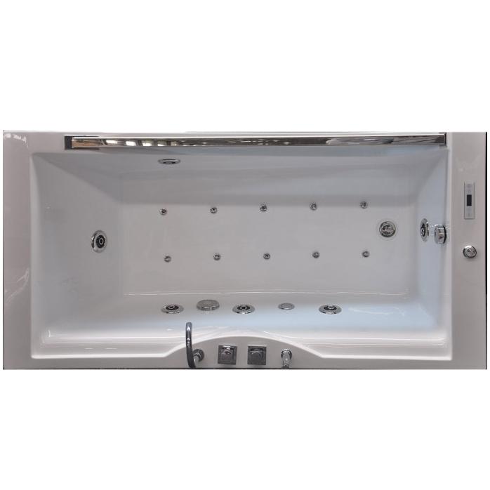 Акриловая ванна Grossman GR-18090-1 180x90 с гидромассажем