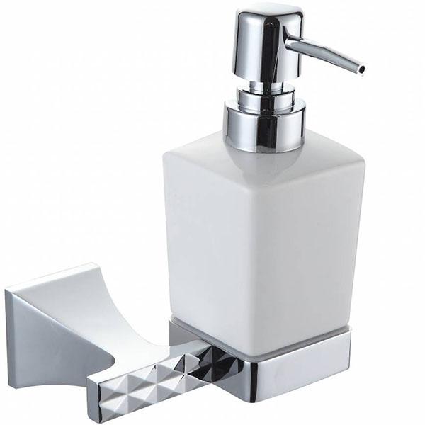 Дозатор для жидкого мыла Artik Grani 04013 Хром полотенцедержатель с дозатором жидкого мыла хром art