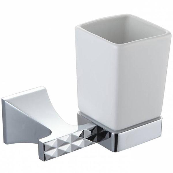 Стакан для зубных щеток Artik Grani 04009 Хром стакан для зубных щеток kassatex