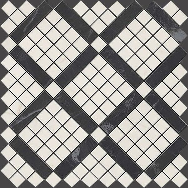 Atlas Concorde Marvel Pro 9MVF Cremo Mix Diagonal Mosaic 30,5х30,5 см