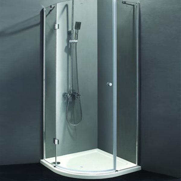 Душевая дверь в нишу Cezares Verona R-1 90 R профиль Хром стекло текстурное