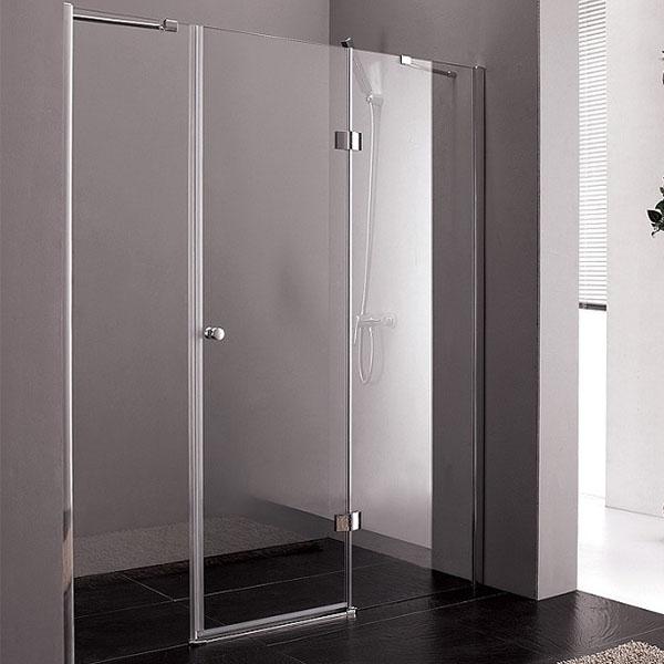 Душевая дверь в нишу Cezares Verona B-13-100 200 профиль Хром стекло прозрачное душевая дверь в нишу cezares verona b 13 30 130 профиль хром стекло прозрачное