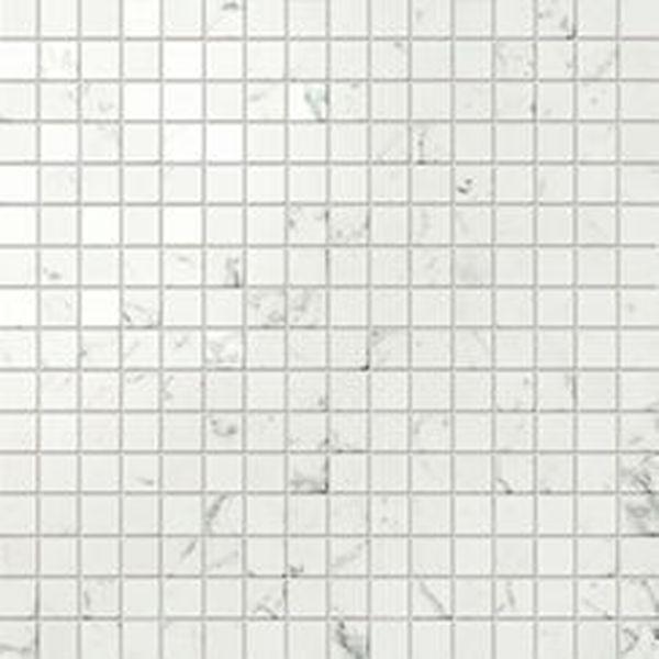 Atlas Concorde Marvel Stone Porcelain AS3T Carrara Pure Mosaico Lappato 30х30 см