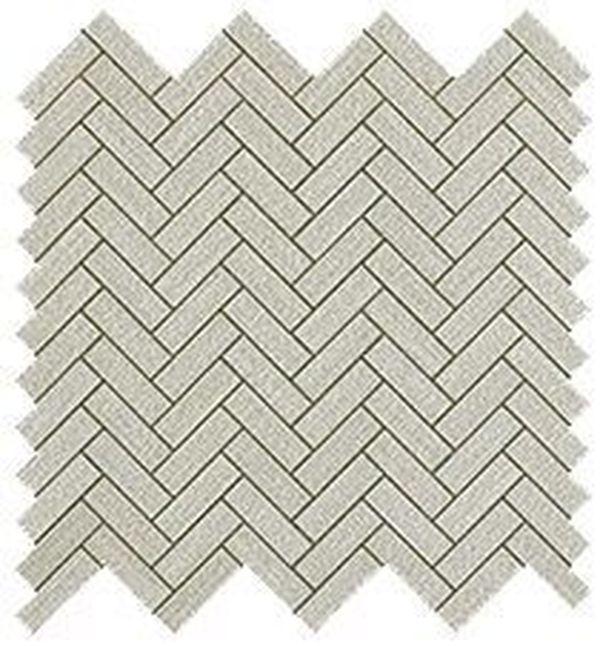 Керамическая мозаика Atlas Concorde Room Pearl Herringbone Wall 32,4х32,4 см