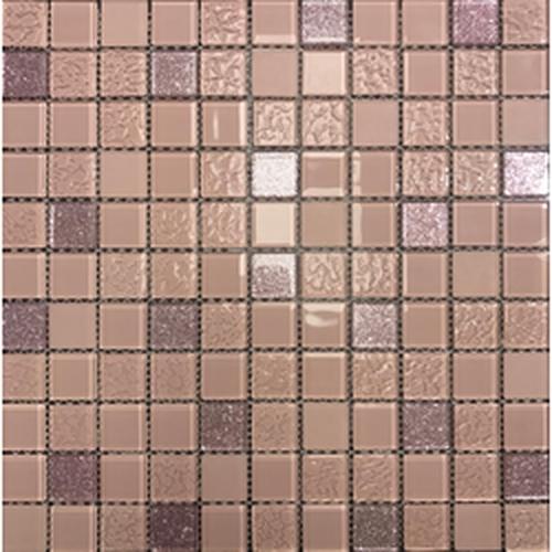 Стеклянная мозаика Orro Mosaic Cristal Sakura 29,5х29,5 см стеклянная мозаика orro mosaic cristal aquifer 4 мм 29 5х29 5 см