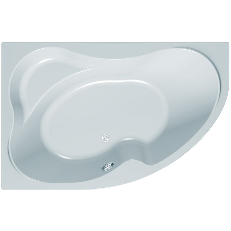 Акриловая ванна Kolpa San Lulu 170x110 R Oxygen Koller Milk