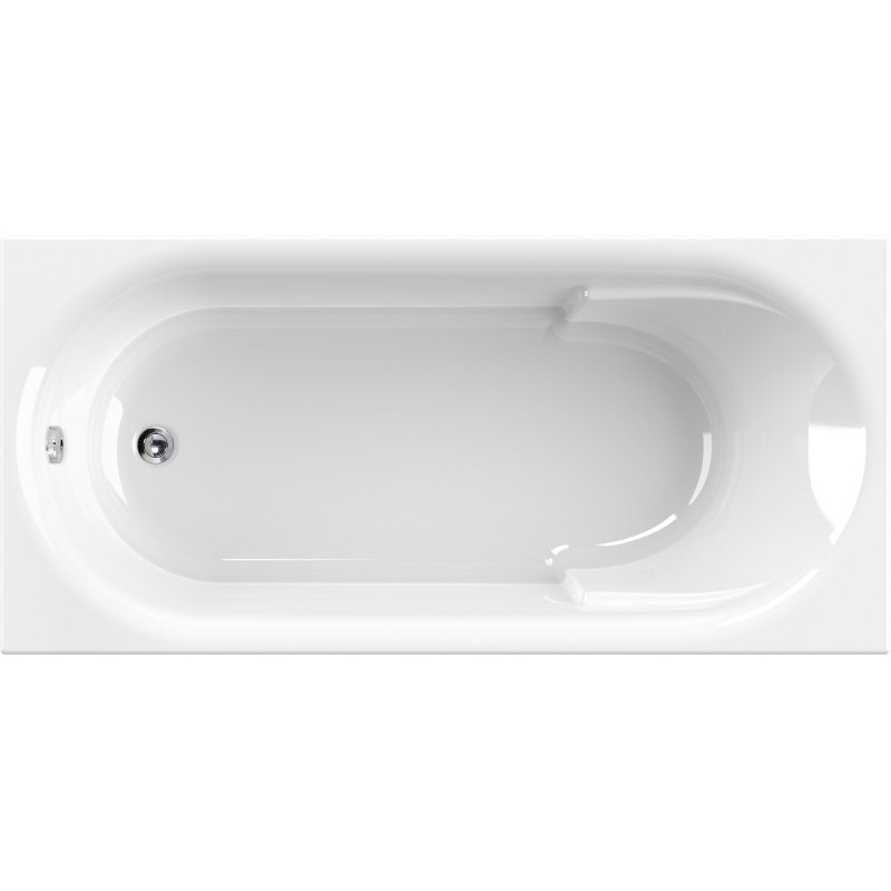 Купить Акриловая ванна, Arno 170x80 без гидромассажа, Cezares, Италия