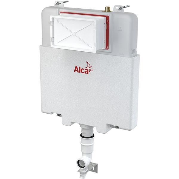 Смывной бачок Alcaplast Basicmodul Slim AM1112 для унитаза с двумя режимами смыва