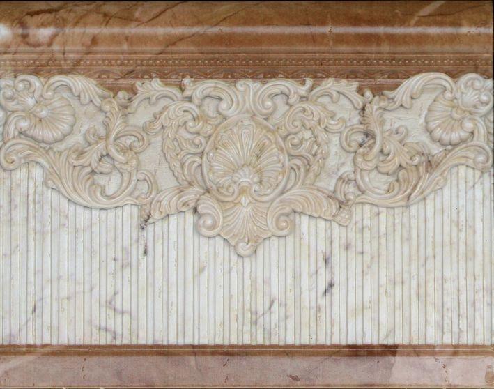 Керамический бордюр Aparici Tolstoi Emile Beige Zocalo 20х25,1 см