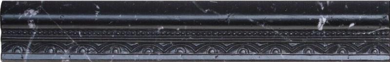 Керамический бордюр Aparici Tolstoi Emile Marquina Moldura 4х25,1 см