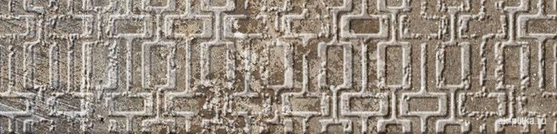 Керамический декор Gayafores Boldstone/Brickbold Deco Ocre 8,15х33,15 см