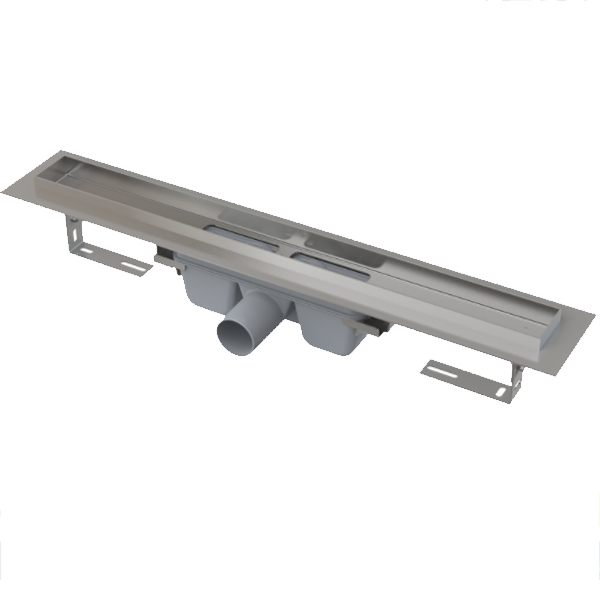 Душевой лоток Alcaplast Professional APZ6-550 Хром Серый без решетки