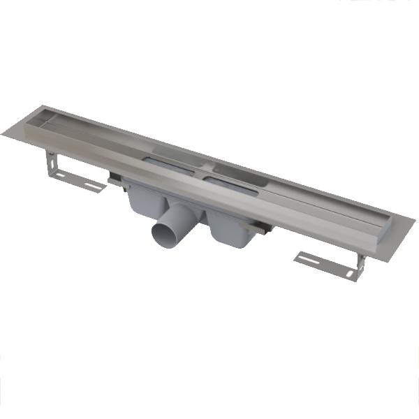 Душевой лоток Alcaplast Professional APZ6-650 Хром Серый без решетки