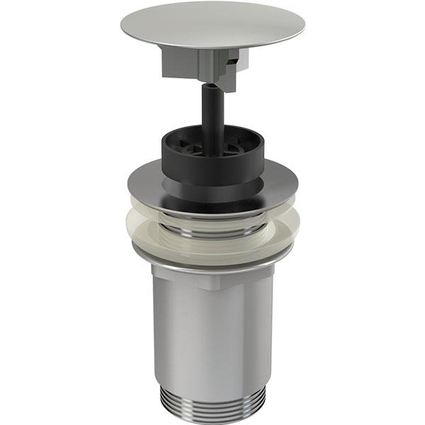 Донный клапан для умывальника Alcaplast A396 Хром доннный клапан alcaplast для раковины без перелива a396