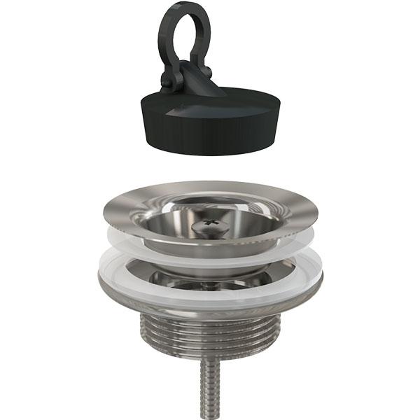 Донный клапан Alcaplast A439 Хром