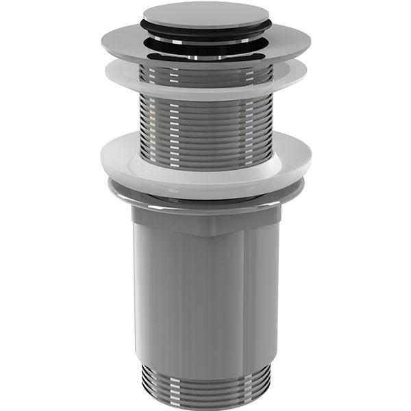 Донный клапан Alcaplast A394 Хром доннный клапан alcaplast для раковины без перелива a396