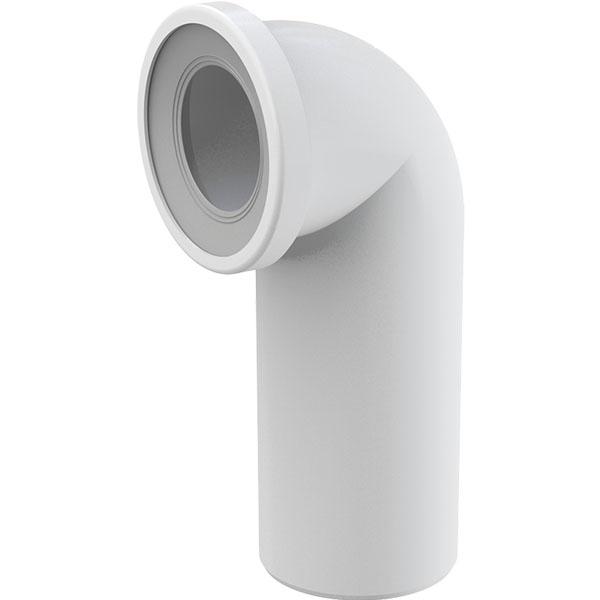Колено для унитаза Alcaplast A90-90 Белый колено выпускное для унитаза alcaplast a90 90p40 белый