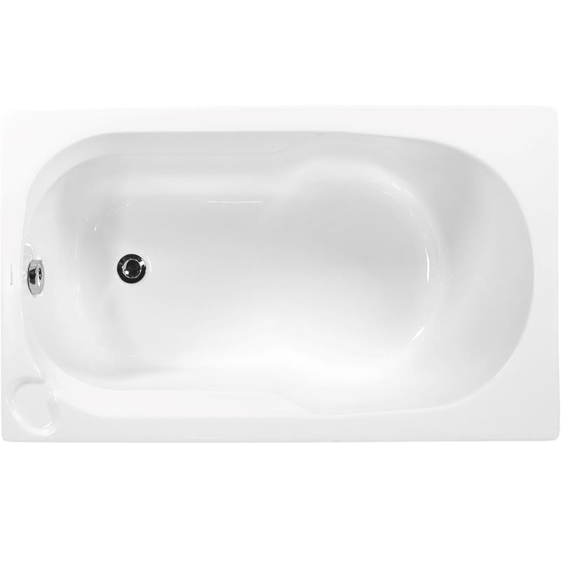 цена на Акриловая ванна Vagnerplast Nike 120x70 без гидромассажа