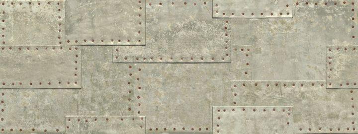 Керамическая плитка Aparici Grunge Grey Flizz настенная 44,63x119,3 см