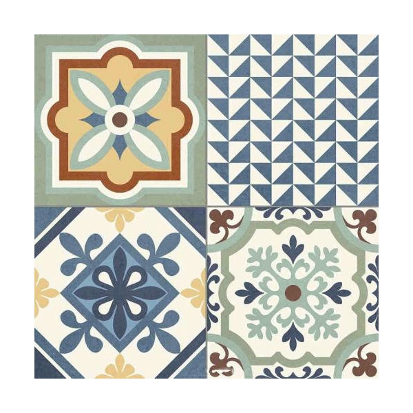 Керамический декор Gayafores Heritage/Rustic Mix 33,15х33,15 см керамический декор gayafores boldstone brickbold deco ocre 8 15х33 15 см