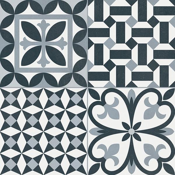 Керамический декор Gayafores Heritage/Rustic Black 33,15х33,15 см