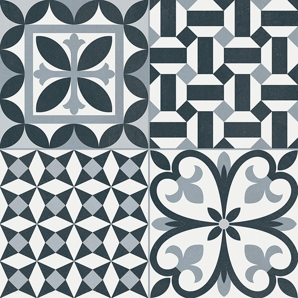 Керамический декор Gayafores Heritage/Rustic Black 33,15х33,15 см керамический декор gayafores boldstone brickbold deco ocre 8 15х33 15 см