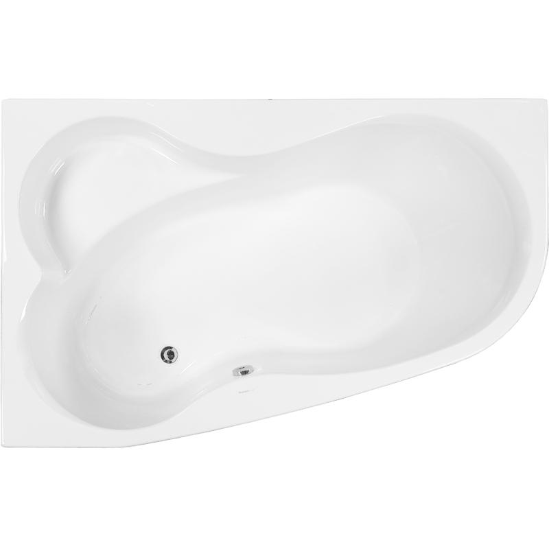 Акриловая ванна Vagnerplast Melite 160x105 L без гидромассажа акриловая ванна 160х105 см l vagnerplast melite vpba163mel3lx 04