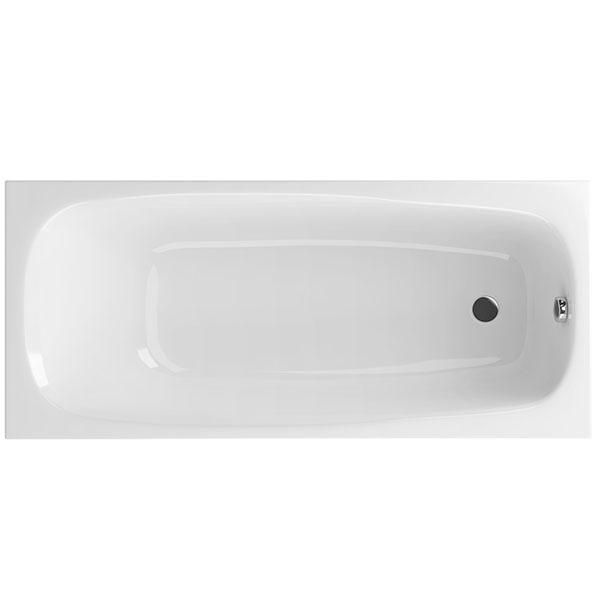 Акриловая ванна Excellent Layla 170x75 без гидромассажа ванна из искусственного камня jacob delafon elite 170x75 с щелевидным переливом e6d031 00 без гидромассажа