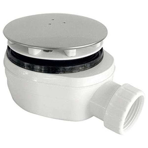 Фото - Сифон для душевого поддона PlastBrno EWCN940 Хром Белый сифон для душевого поддона unicorn easyopen с латунным выпуском 1 1 2 d40 с отводом g311e