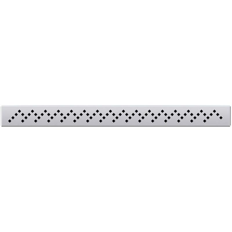 Решетка для душевого лотка PlastBrno SZL064L Хром фото