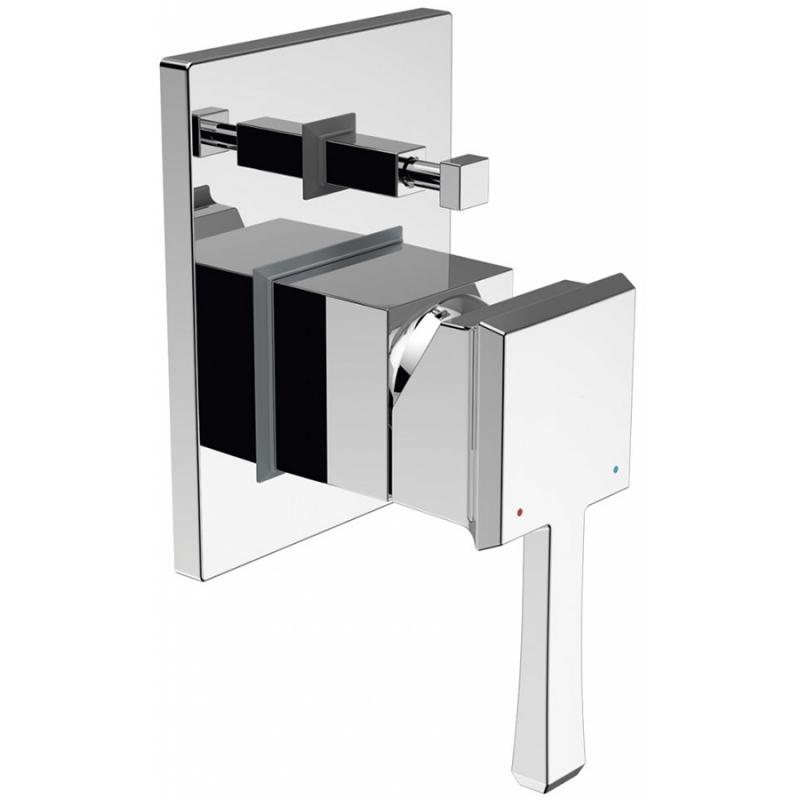 Смеситель для душа BelBagno Mille MIL-BASM-CRM Хром смеситель для ванны belbagno bordo с механизмом bor basm crm