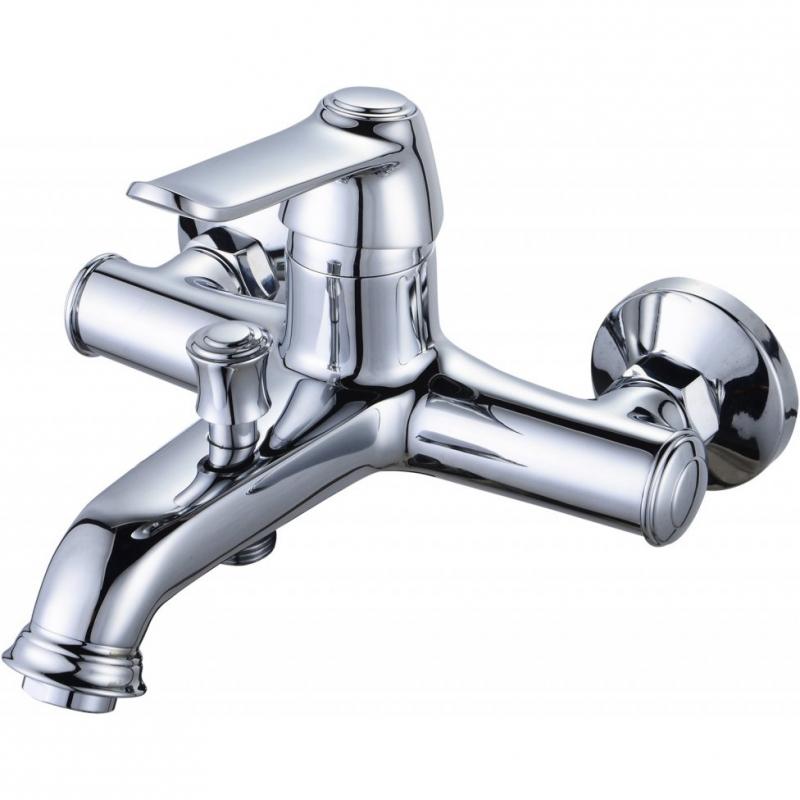Смеситель для ванны BelBagno Bordo BOR-VASM-CRM Хром смеситель для ванны belbagno bordo с механизмом bor basm crm