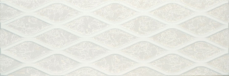 Керамическая плитка Gemma Aspire Ivory Geometric настенная 30х90 см