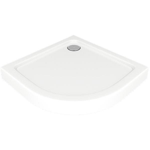 Акриловый поддон для душа Good Door Раунд R 80x80 Белый