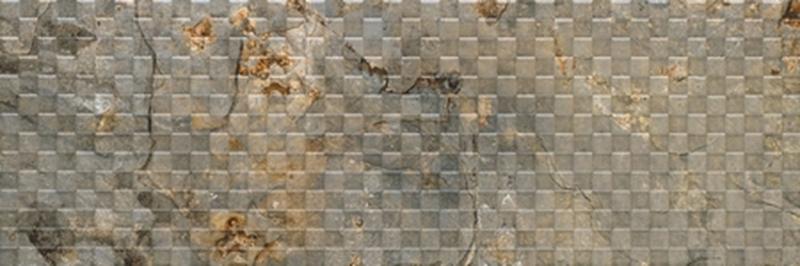 Керамическая плитка Gemma Ego Dark Beige Mosaic I настенная 30х90 см