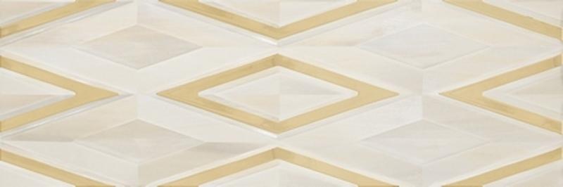 Керамическая плитка Gemma Galleria Single Ivory Gold настенная 30х90 см цены