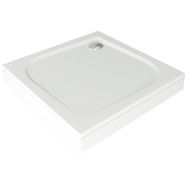 Душевой поддон из искусственного камня Good Door Квадро 100x100 Белый