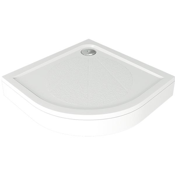 Душевой поддон из искусственного камня Good Door Эклипс 80x80 Белый
