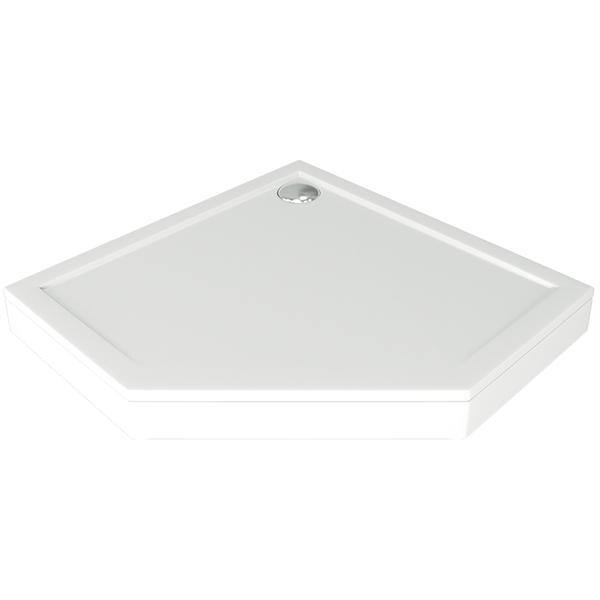 Душевой поддон из искусственного камня Good Door Пента 90x90 Белый
