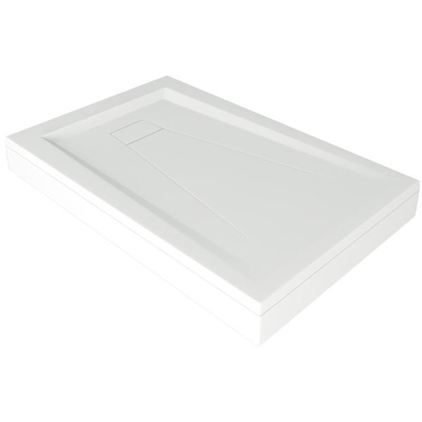 Душевой поддон из искусственного камня Good Door Атриум 120x80 Белый