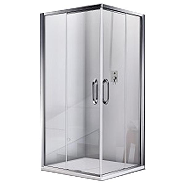 Душевой уголок Good Door Antares CR-100 100х100 профиль Хром стекло прозрачное