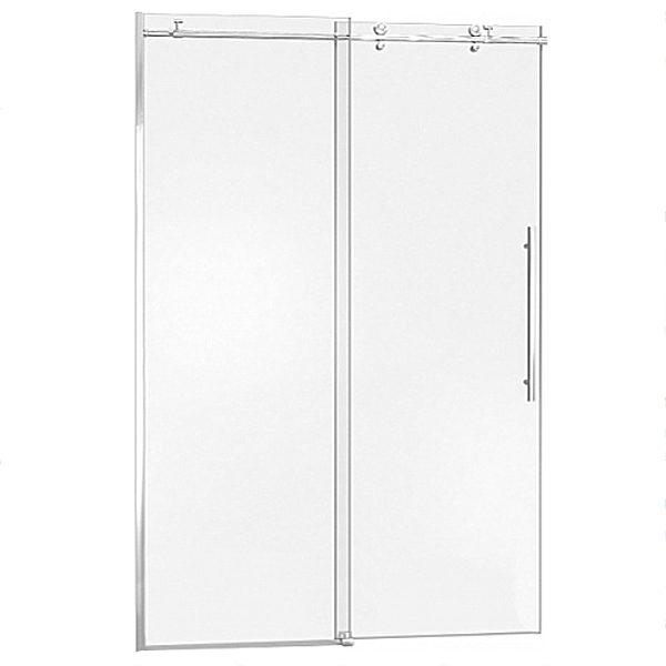 Душевая дверь в нишу Good Door Puerta WTW-120-C-CH 120 профиль Хром стекло прозрачное душевая дверь в нишу good door galaxy wtw 120 c ch 120 профиль хром стекло прозрачное