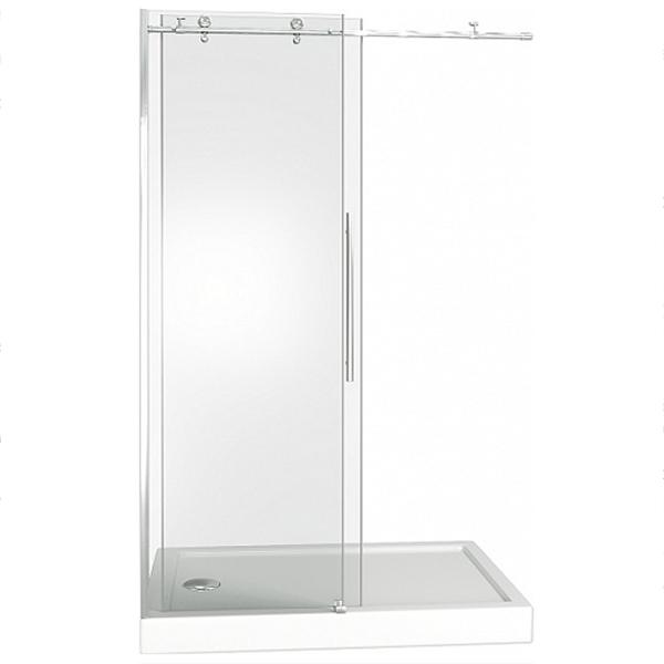 Душевая дверь в нишу Good Door Puerta WTW-130-C-CH 130 профиль Хром стекло прозрачное