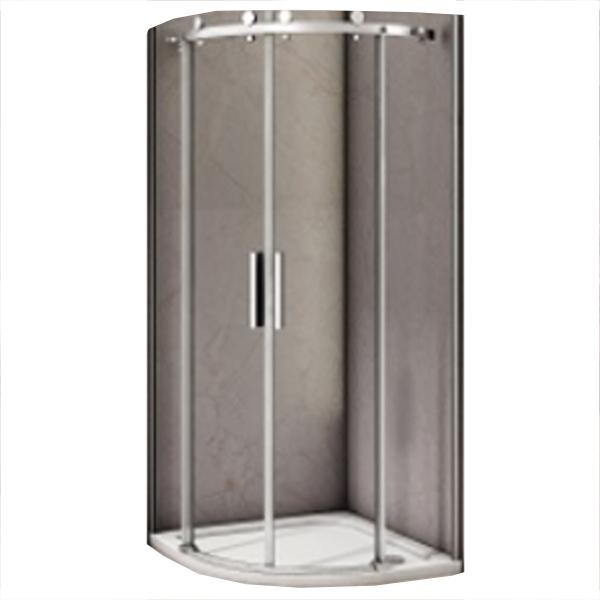 Душевой уголок Good Door Altair R-TD-100-C-CH 100x100 профиль Хром стекло прозрачное