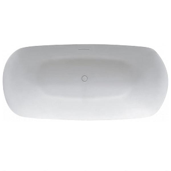 Ванна из искусственного камня Riho Bilo 165х77 без гидромассажа ванна из искусственного камня nt bathroom nt201 165х78 без гидромассажа