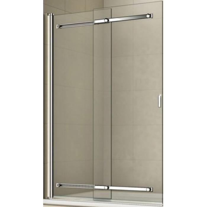 Шторка на ванну Good Door Screen SR-100-C-CH 100 профиль Хром стекло прозрачное цена 2017