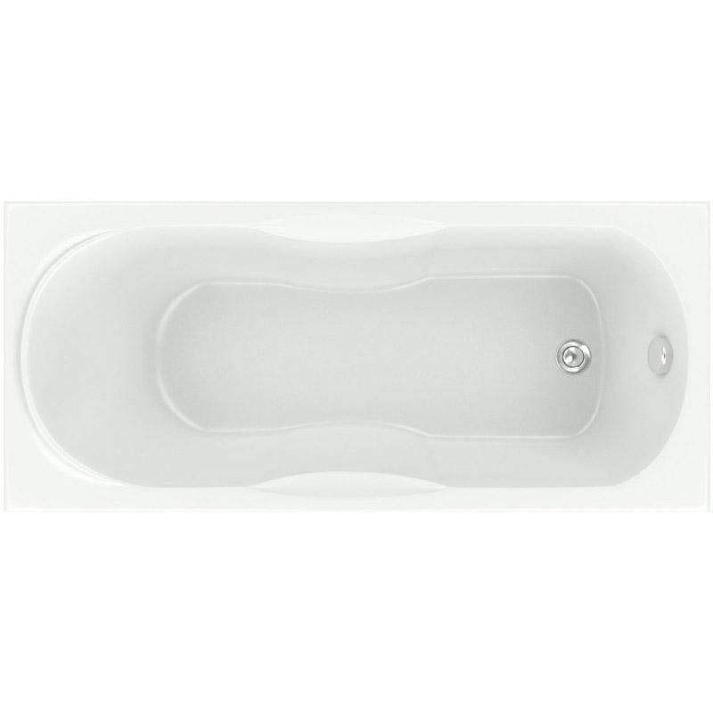 Акриловая ванна Bas Рио Standart 170x70 без гидромассажа акриловая ванна bas нептун st 170x70 без гидромассажа