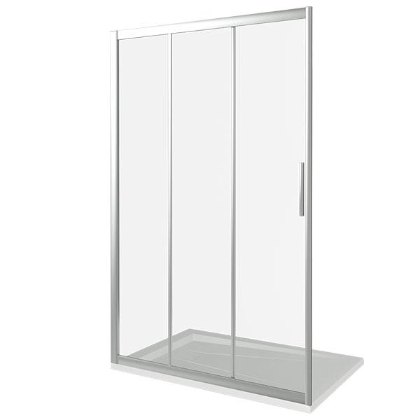 Душевая дверь Good Door Orion WTW-110 110 профиль Хром стекло Grape душевая дверь good door orion wtw 110 110 профиль хром стекло grape